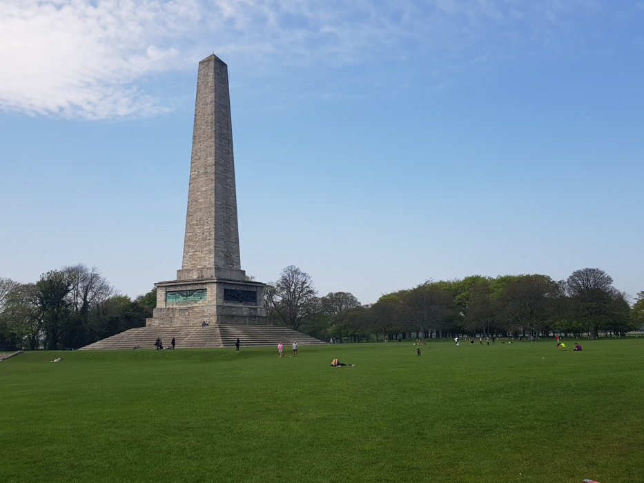 photoblog image The Wellington monument